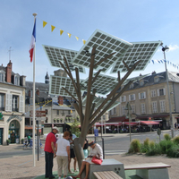 Solar Tree-Solar Showcase Solar+energy+systems A Beauty Solar Exhibition