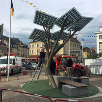 Solar Tree In Paris