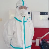 Irradiation Epoxy Sterilization Protective Clothing